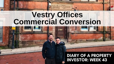 Vestry Offices commercial conversion in Rotherham - George Choy and Richard Snell