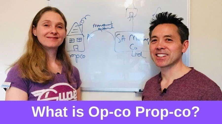 What is Op-co Prop-co?