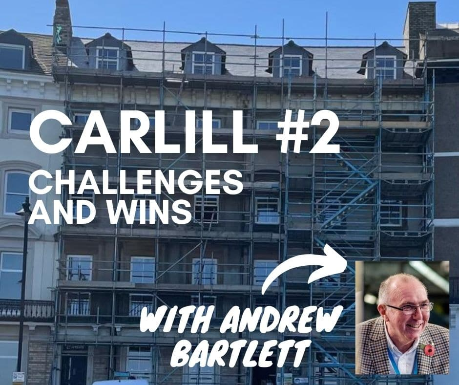 Commercial Conversion — The Carlill, Whitby | Update #2|Sarah & George Choy Property Podcast